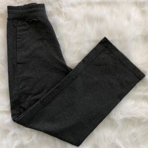 Lululemon Pants Casual Gray Wide Leg With Pockets